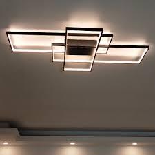 rectangle modern ceiling light