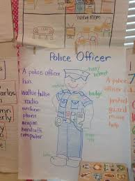 Community Helpers Chart Police Officer Anchor Chart Community Helpers Community