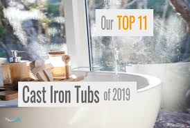 best cast iron tubs 2019 featured image showersly