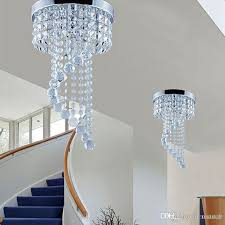 20 25cm crystal chandelier ceiling lighting crystal ball chandelier flush mount ceiling light lamp for aisle stair hallway porch lights blown glass