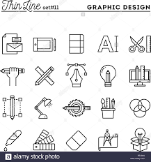 Graphic Design Software Icons Graphic Design Creative Package Stationary Software And