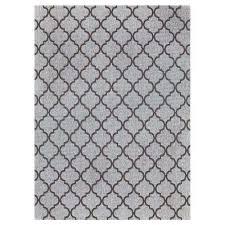 hastings rope gray 9 ft x 13 ft indoor outdoor area rug