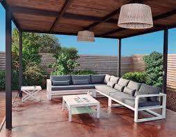 gardenart modular sofa fermo curve mediterranean living mallorca