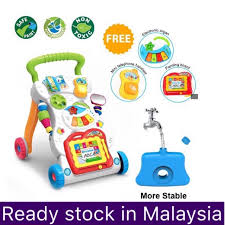 【Ready Stock】<b>Baby Walker Multifunctional Toddler</b> With Music and ...