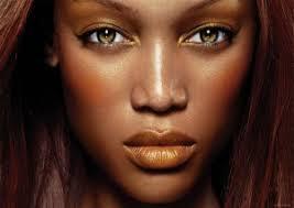 eye shadow for warm dark skin tone