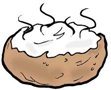 baked potato clip art. Interesting Clip Chili Baked Potato Clipart 1 With Clip Art S