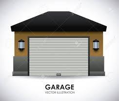 garage design vector ilration ilration