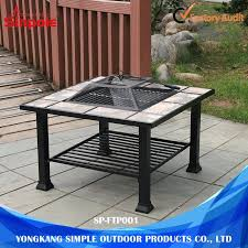 china outdoor stainless steel bbq side table with korean or janpenes china korean bbq grill table janpenes table bbq