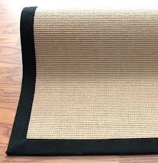 sisal rugs with borders rug black border designs leather sisal rugs with borders