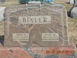 Effie Montgomery Bixler (1875-1940) - Find A Grave Memorial