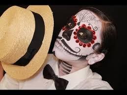 the catrin men s dia de los muertos day of the dead face paint tutorial