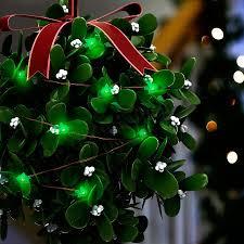 Mistletoe Ball Lights Easy Christmas Craft Idea Make A Light Up Mistletoe Ball