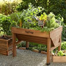 vegtrug patio garden craftsman landscape and yard with raised beds by ben schielke