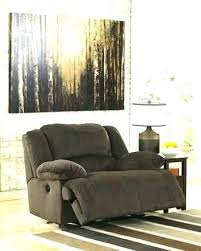beautiful furniture chair and a half brown leather swivel glider recliner intended for ashley chairs84