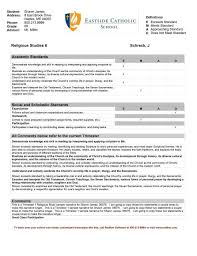 Student Report Card Template Student Report Card Comments Bank Report Card Samples
