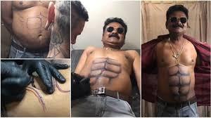 šílená Tetování