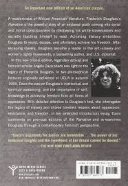 narrative of the life of frederick douglass an american slave narrative of the life of frederick douglass an american slave written by himself a new critical edition by angela y davis city lights open media