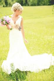 A Vintage Rustic Style Real Wedding  Country Wedding Dresses Vintage Country Style Wedding Dresses