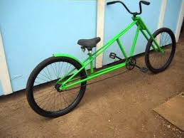 chopper bicycle with motorcycle type front forks youtube