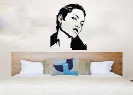 personalised wall stickers elegant headboards headboard wall decal awesome wall decals for bedroom