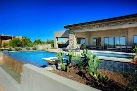 infinity pool design. Fine Design Infinity Edge Swimming Pool Gallery U2014 Presidential Pools Spas U0026 Patio Of  Arizona For Design R