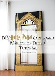 Diy Mirror Delicious Reads Diy Harry Potter Cardboard Mirror Of Erised
