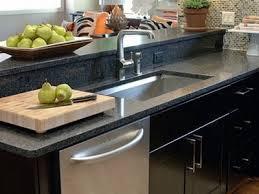 black quartz countertops for small kitchen