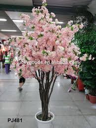 Fake Cherry Blossom Tree With Lights Wholesale Wedding And Event Artificial Cherry Blossom Tree For Decoration Buy Artificial Cherry Blossom Tree Wedding Blossom Tree Cherry Blossom