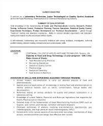 Professional Lab Technician Resume Template Laboratory