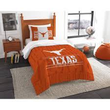 ncaa texas longhorns modern take bedding comforter set