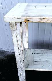 white wooden full size headboard whitewashed reclaimed wood