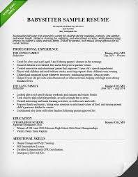 best nanny resumes sample nanny resume new writing portfolio template resume template