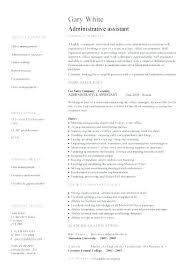 Hmo Administrator Resume Amazing Administration Resume Format Administrative Assistant Resume Example