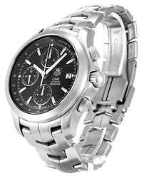 new tag heuer mens link automatic chronograph swiss made watch image is loading new tag heuer mens link automatic chronograph swiss