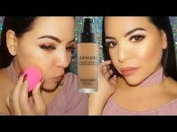 foundation friday sephora collection 10 hour wear perfection foundation review