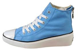 all star shoes for girls 2015. 2014 light blue converse all star platform women sneakers chuck taylor elevated wedge heel high tops shoes for girls 2015 -