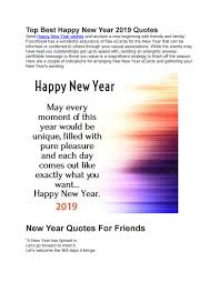 Top Best Happy New Year 2019 Quotes By Saif Ameen Issuu