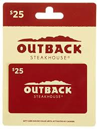 Outback Steakhouse Gift Card $25: Gift Cards - Amazon.com