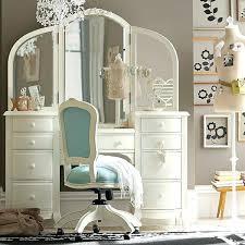 Vanity Sets With Stool Girls Bedroom Dressing Table Vanity Set Girls ...