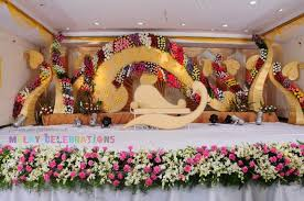 the well fabricated design should gives traditional aspect of reception se backdrop decorations in coimbatore wedding se decorations are sensation