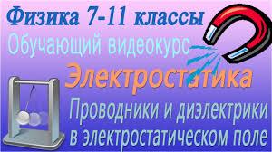 Проводники и диэлектрики в электростатическом поле Урок  Проводники и диэлектрики в электростатическом поле Урок 57