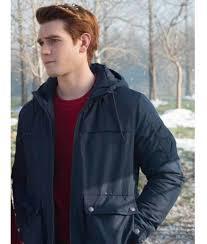 Riverdale Kj Apa Blue Hoodie Jacket Riverdale Hoodie Jacket