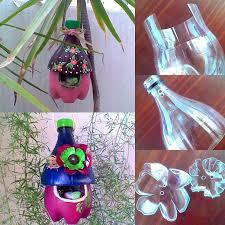 Decoration With Plastic Bottles DIY Decorative Birdhouses Ideas 45