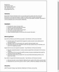 cv financial controller controller resume examples pointrobertsvacationrentals com