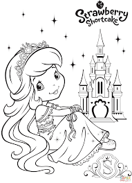 Strawberry Shortcake Coloring Pages Free Friendsofbjp Org New