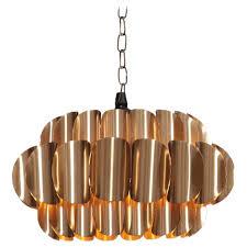 brass pendant lamp by hans agne jakobsson for
