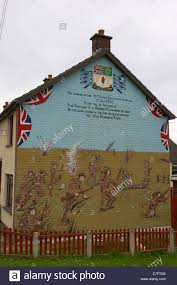 36th ulster division thiepval loyalist wall mural painting rathcoole newtownabbey northern ireland