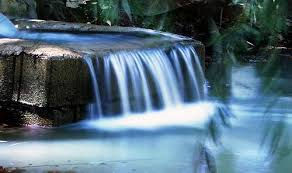Flowing water represents good communication ...