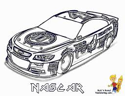 Small Picture Nascar Coloring Pages fablesfromthefriendscom