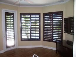 inspirational wood window shutters gratograt dark grey wooden venetians effect brown plantation memphis glass nice curtains